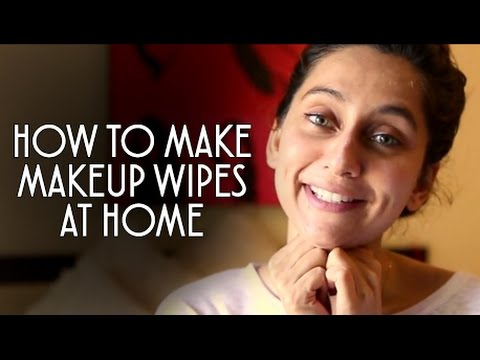Diy makeup wipes anusha dandekar youtube solutioingenieria Choice Image