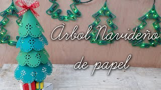 Pino/árbol navideño de papel Thumbnail