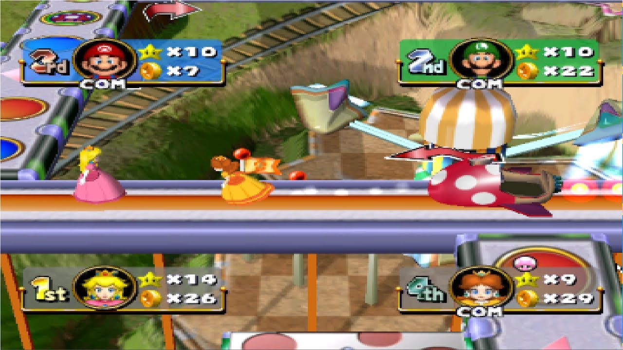 mario party 4 gameplay - best gamecube games