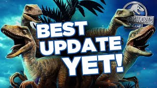 Jurassic World's BEST UPDATE YET! | Jurassic World - The Game - Ep407 HD