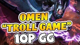 MSuong Cầm Omen Troll Game Cười Sml ! Trận đấu cực nhây của Msuong !