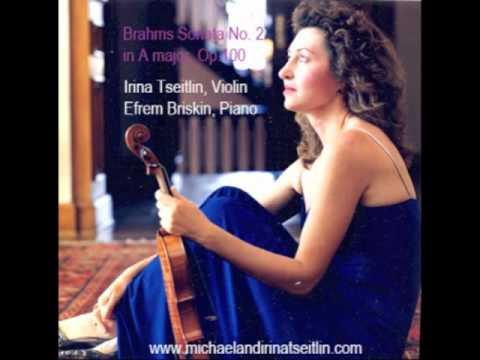 Brahms Sonata No. 2 in A major. Op. 100, Mvt 1