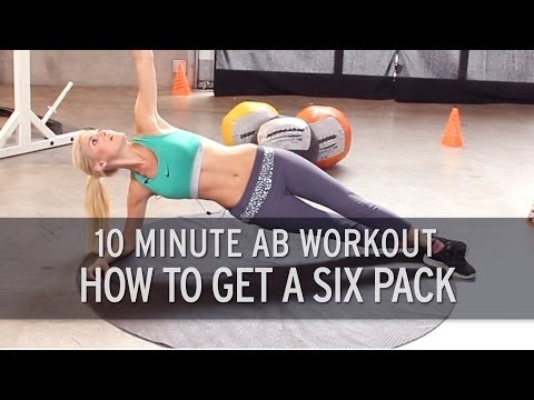 XHIT – 10 Minute Ab Workout: How to Get a Six Pack