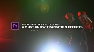 4 SICK MUST KNOW Transition For Your Music Videos! | Adobe Premier Pro CC (NO PLUGINS REQUIRED)