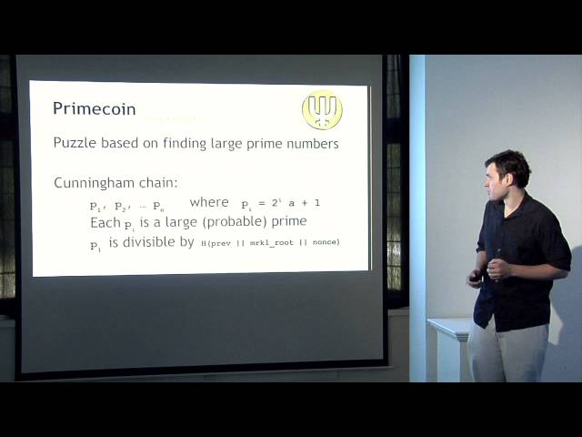 Lecture 8 — Alternative Mining Puzzles