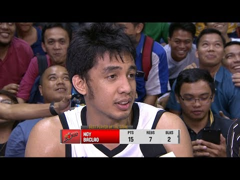 Best Player: Noy Baclao | PBA Governor's Cup 2018