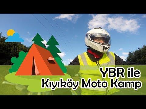 YBR Ile Kıyıköy Moto Kamp Gezisi