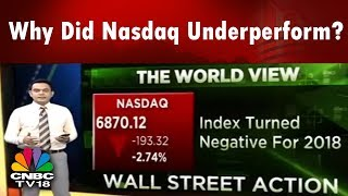 Why Did Nasdaq Underperform? | Nasdaq Index Turned Negative For 2018 | CNBC TV18