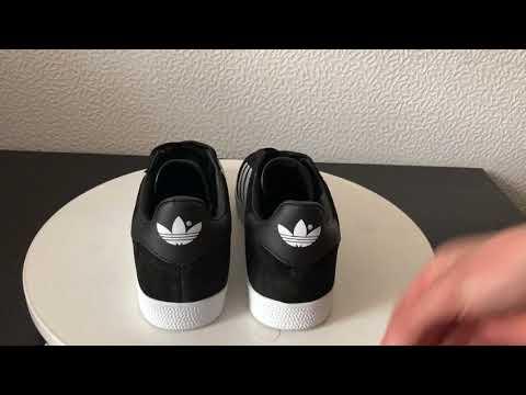 Adidas Gazelle Black/White Men