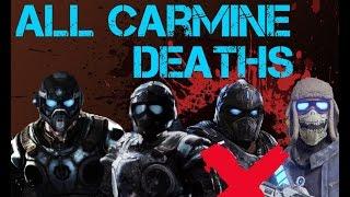 Gears Of War   ALL CARMINE DEATHS