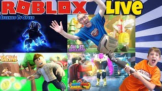 🔴 Roblox LIVE 💩🥳 Legends of Speed, Ghost Sim, Vacuum Sim, Superhero Sim