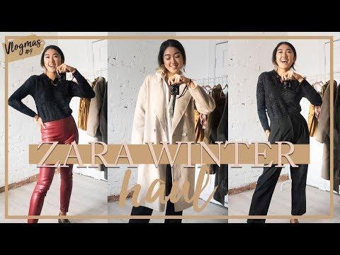 ZARA WINTER HAUL: What I Got For $450 (11 Items)   #Vlogmas 9