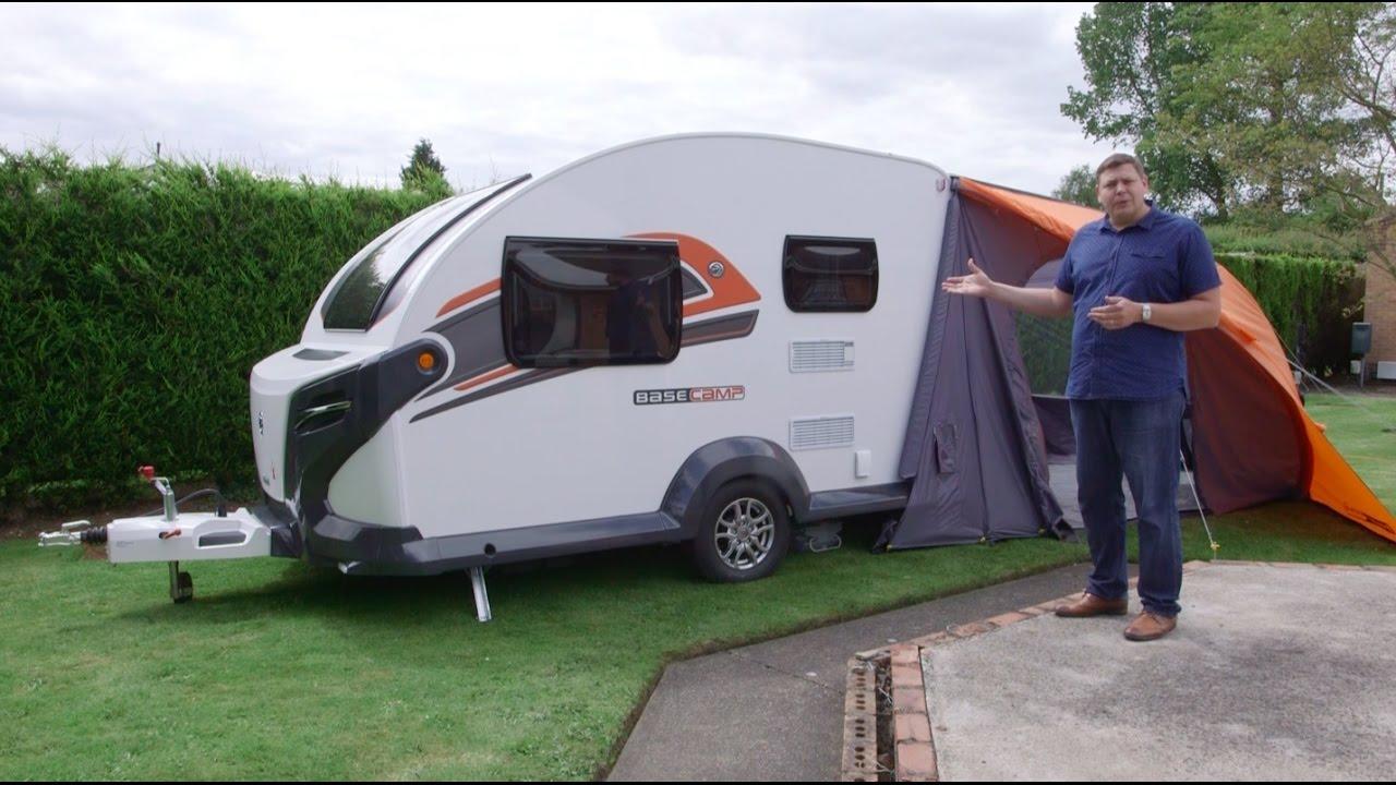 The Practical Caravan Swift Basecamp Plus Review Youtube