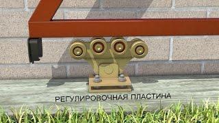 видео Комплектующие - Откатные ворота