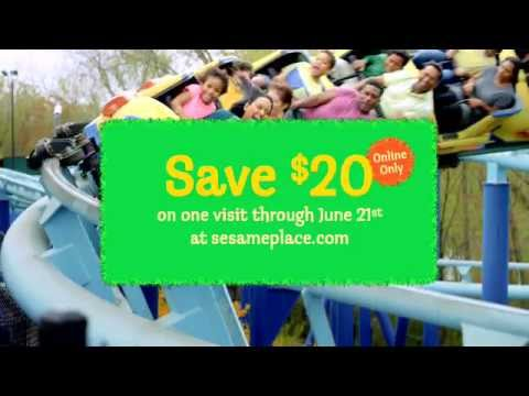 15% OFF + Extra $20 Sesame Place Coupon