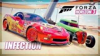 Forza Horizon 3 - Hot Wheels Infection, Pushing People Off, Sneezes