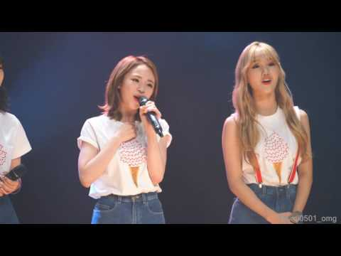 4K 160702 오마이걸 Special Fan Meeting Miracle Day B612 (OH MY GIRL)