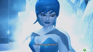 Young Justice: Legacy Walkthrough - Walkthrough Part 11 - Mission 4: Cold Chase - Ice Garden (Killer Frost Bossfight)