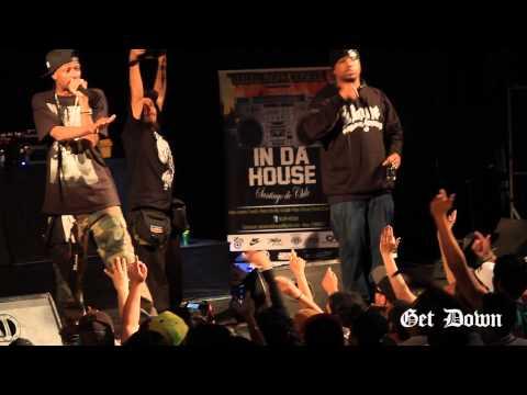 "Krayzie Bone ""Thug Mentality"" Live in Santiago Chile pt. 2"
