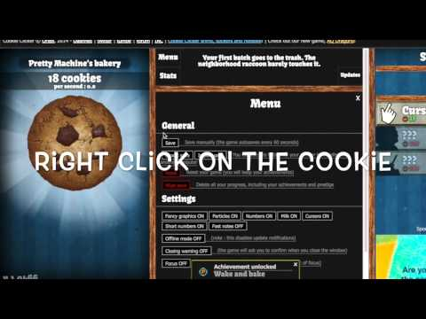 How To Hack Cookie Clicker ( COMPUTER VERSION )