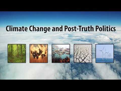 Climate Change and Post-Truth Politics