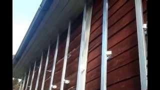 Строительство фасада .Виниловый сайдинг.Монтаж каркаса.1-3 ий  день работы(, 2015-11-01T15:24:18.000Z)