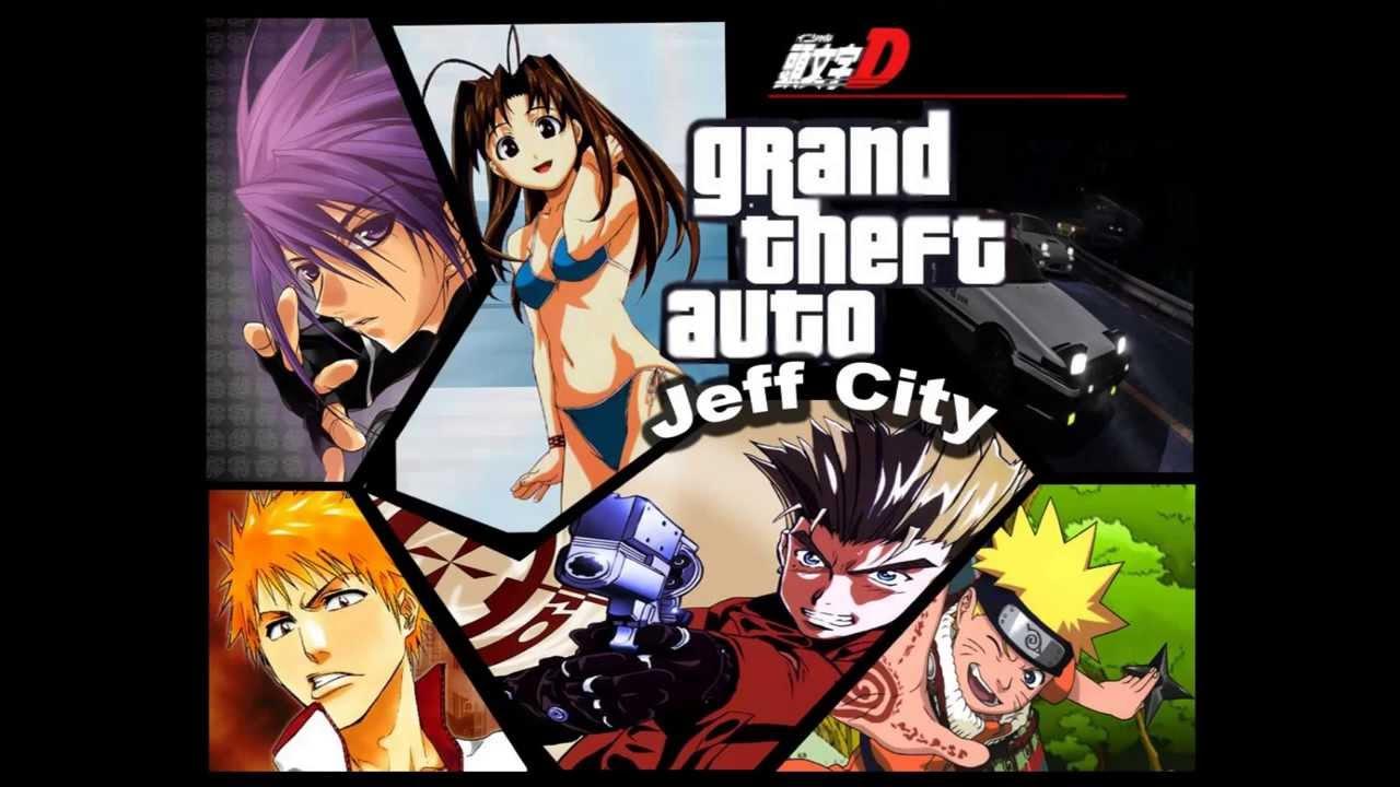 Grand Theft Auto Anime