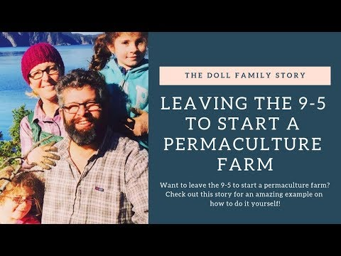 Leaving the 9-5 To Start A Sustainable Permaculture Farm After Taking A PDC!