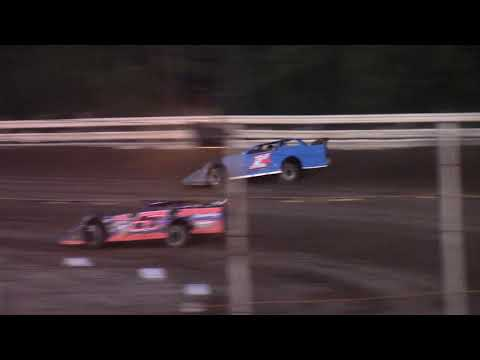 Hummingbird Speedway (9-7-19): Swanson Heavy Duty Truck Repair Semi-Late Model Heat Race #2