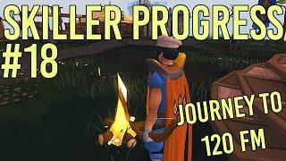 RuneScape - Skiller Progress #18 - 40M Firemaking XP!