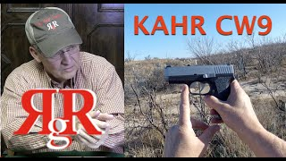 kahr cw9 on the range review