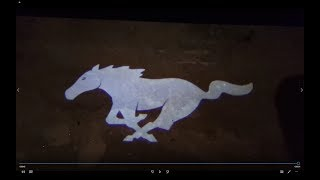 2018 Mustang GT Premium in the Dark
