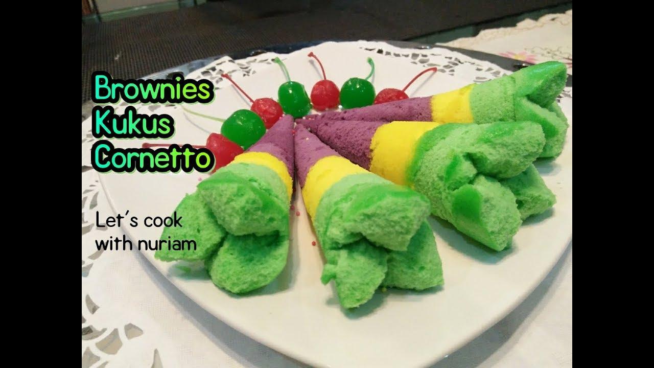 Resep Cake Kukus Simple: Resep Brownies Kukus Cornetto Enak SO SIMPLE!!!