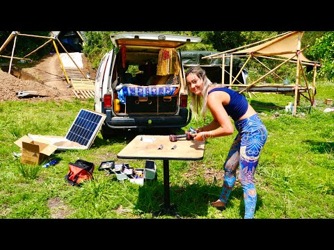 How to Install Solar in your Van for Dummies