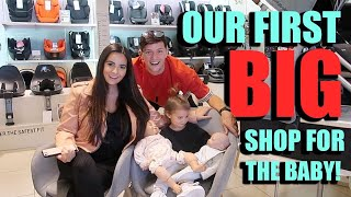 OUR FIRST BIG SHOPPING SPREE FOR BABY NUMBER TWO!!!