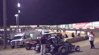 Jason Leffler Turkey Night 2012 Qualifying #56