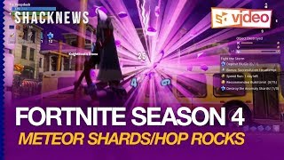 Fortnite Season 4 Gameplay: Meteor Shards/Hop Rocks Give Battle Royale Players Superpowers