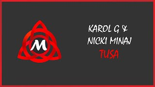 Karol G And Nicki Minaj   Tusa  Танцевальная музыка  Музыка 2019  Dance Music