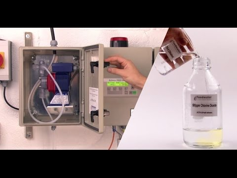Activ-Ox Chlorine Dioxide Dosing System for Water Treatment Legionella Control
