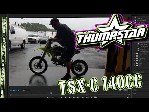 THUMPSTAR TSX-C 140cc - Listen to that engine! Start-up and walk-around