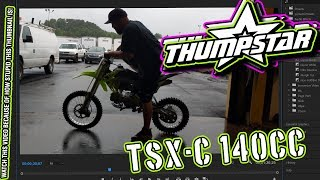 THUMPSTAR TSX-C 140cc - Listen to that engine! Start-up and walk-around