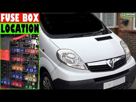 [ZSVE_7041]  Vauxhall Vivaro Fuse Box Location and How to check Fuses on Vauxhall Vivaro  - YouTube | Renault Trafic Engine Fuse Box |  | YouTube