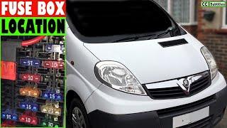 Vauxhall Vivaro Fuse Box Location and How to check Fuses on Vauxhall Vivaro  - YouTubeYouTube