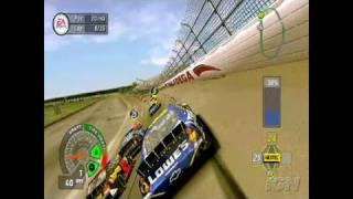 NASCAR 07 PlayStation 2 Gameplay - Smashing Drive