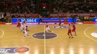 Giessen 46ers - Telekom Baskets Bonn - Larry Gordon #23 red - Playing Time Edit