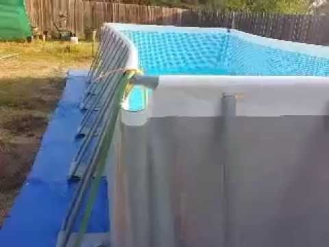 Intex Pool Assembly Tips Youtube
