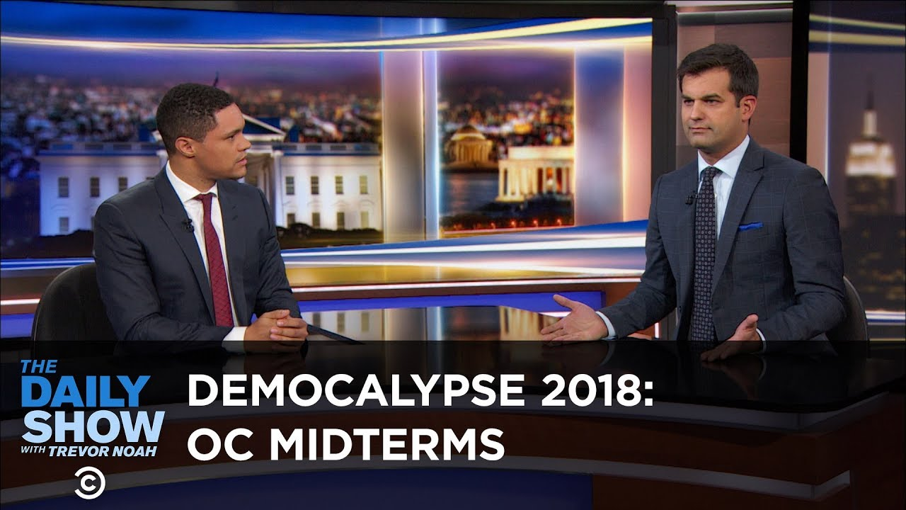 Democalypse 2018 - Democrats Aim for a Midterm Victory in Orange County | The Daily Show