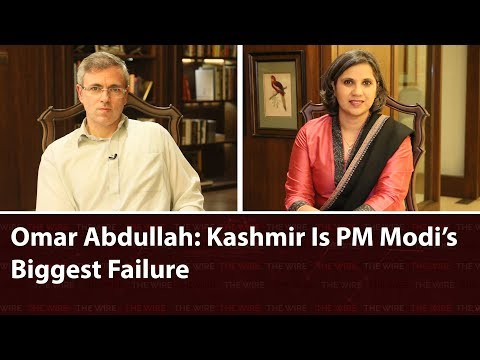 Wide Angle Episode 55: Omar Abdullah: Kashmir Is PM Modi's Biggest Failure