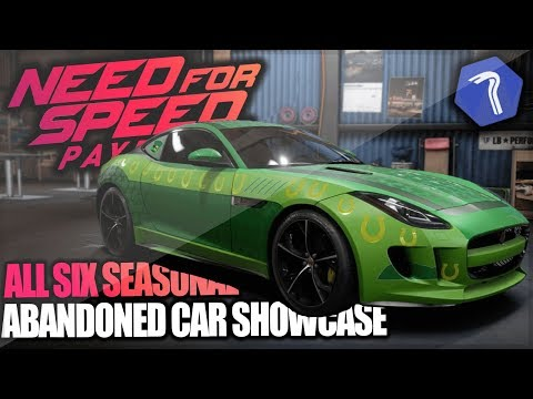 Need For Speed Payback - NEW Seasonal Abandoned Cars + SHOWCASE! New Year Lamborghini & More!