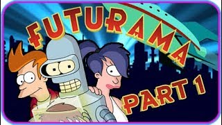 Futurama Walkthrough Part 1 (PS2, XBOX) Level 1: Planet Express